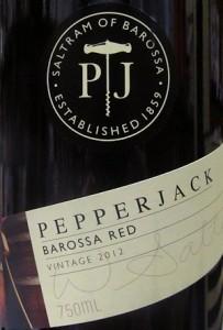 Red wine blend from australia-pepperjack barossa red