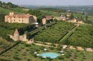 The Château de Bagnols, one of the finest 5 Star Château de France, located in the heart of the vineyards of Beaujolais