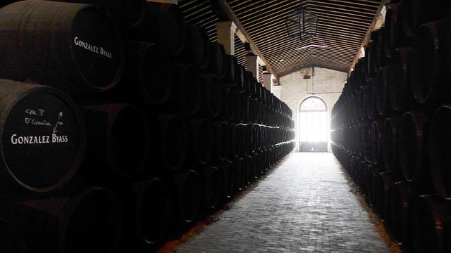 sherry solera system Gonzalez Byass