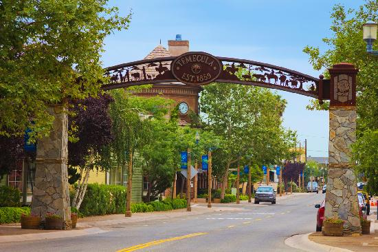 Old Town Entrance to Temecula