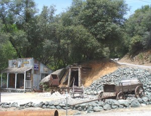 Rough and Ready California - Historic Gold Mining Town in the Sierra Nevada region