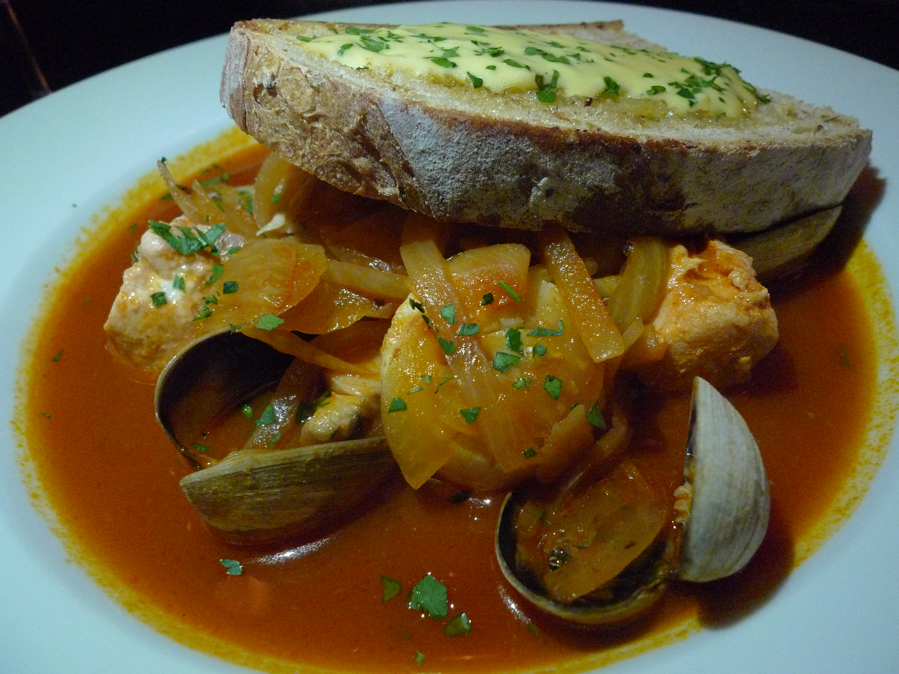 Seafood Bourride-flickr photo by @Ron Dollete - article by winegeographic.com