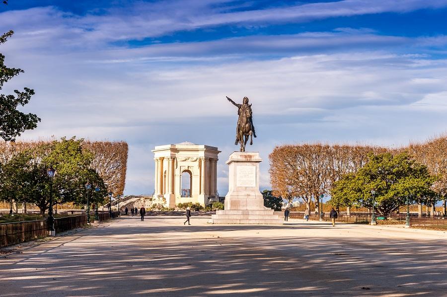 Parc du Peyrou à Montpellier