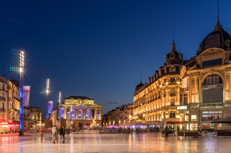 Place de Comedie in Montpellier