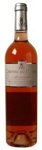 Ch. du Donjon rose bottle shot