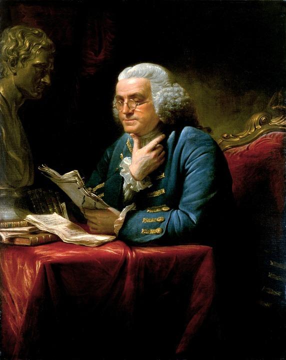 Benjamin Franklin, wine quotes