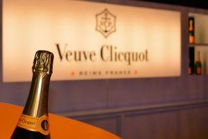 Bottle of Veuve Clicquot